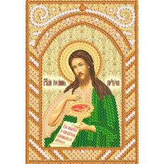 изображение: именная икона для вышивки бисером Пророк и креститель Иоанн Предтеча