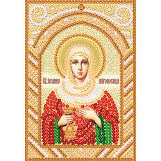 изображение: схема для вышивки бисером именной иконы Св. Иоанна Мироносица (Яна, Жанна)
