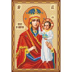 фото: схема для вышивки бисером Икона Божией Матери Призри на смирение