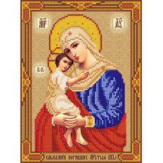 изображение: схема для вышивки бисером Икона Божией Матери Взыскание погибших