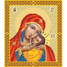 изображение: схема для вышивки бисером Корсунская икона Божией Матери