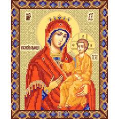 фото: схема для вышивки бисером Икона Божией Матери Избавительница