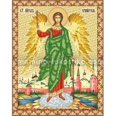 Схема для вышивки бисером Св. Ангел Хранитель