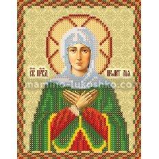 Схема для вышивки бисером Св. Прав. Праматерь Лия (Лилия)
