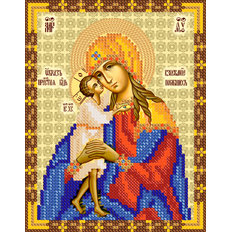 изображение: схема для вышивки бисером иконы Взыскание погибших