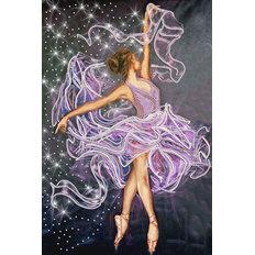 фото: картина, вышитая бисером, Танец ветра