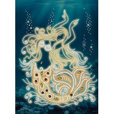 фото: картина для вышивки бисером, Волшебная русалка
