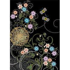 фото: картина для вышивки бисером, Ночная фантазия