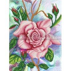Схема для вышивки бисером Королева цветов