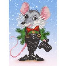 фото: символ года Крыса для вышивки бисером