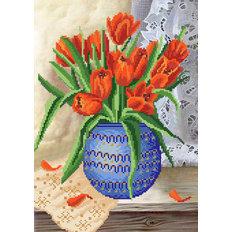 фото: схема для вышивки бисером Время тюльпанов