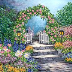 Схема для вышивки бисером Волшебный сад