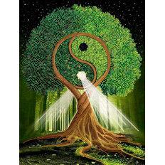 фото: схема для вышивки бисером, Дерево жизненной энергии