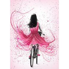 фото: картина для вышивки бисером, На велосипеде