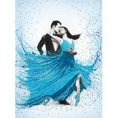 фото: картина для вышивки бисером, Волнующий танец