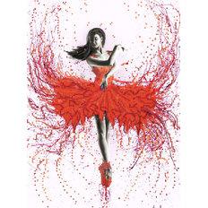 фото: картина для вышивки бисером, Танец страсти