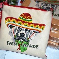 Пошитый клатч для вышивки бисером Papa Grande