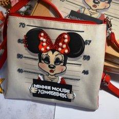 фото: пошитый клатч для вышивки бисером Роковая Минни