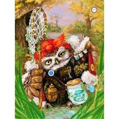 фото: картина для вышивки бисером, Совунья-ведунья