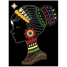 фото: картина для вышивки бисером, Ошун богиня любви и богатства