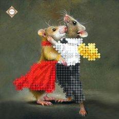 фото: картина для вышивки бисером Любви Вам!