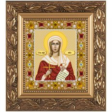 изображение: икона для вышивки бисером Св. Мц. Виктория (Ника) Коринфская