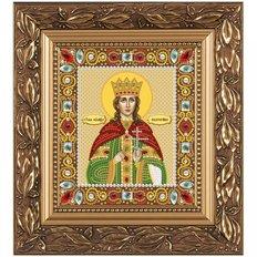 изображение: икона для вышивки бисером Св. Вмц. Екатерина Александрийская