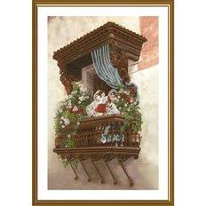 фото: картина для вышивки бисером Сиеста