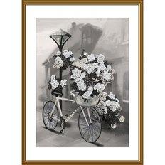 фото: картина для вышивки бисером Велосипед