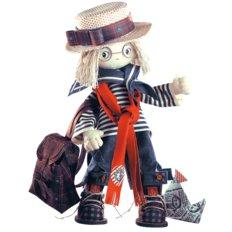 Набор для шитья Текстильная каркасная кукла Том