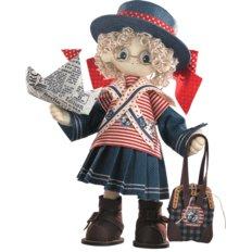 Набор для шитья Текстильная каркасная кукла Бэкки