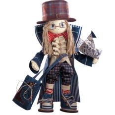Набор для шитья Текстильная каркасная кукла Гек