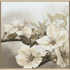 Набор для вышивки крестом и бисером Цветущий сад