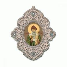 изображение: икона для вышивания бисером на пластиковой канве