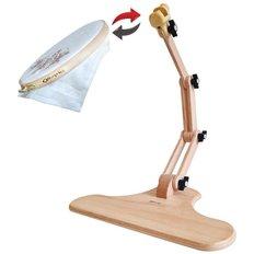 фото: деревянный настольный станок для вышивания