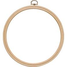 Пяльцы-рамка круг, деревянные с подвесом, диаметр 280 мм