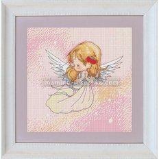 Набор для вышивки крестом Ангелочек