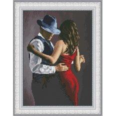 фото: картина для вышивки крестиком, Танго для двоих