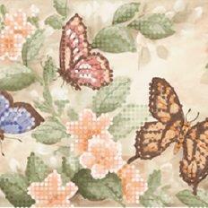 фото: декоративная лента для вышивки бисером Бабочки