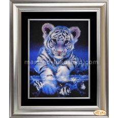 Набор со стразами Озорной тигренок