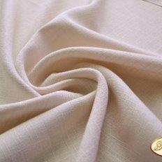 Ткань для задника подушки, светло-бежевый лен-рогожка