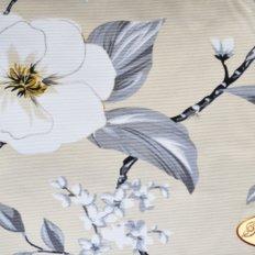 Ткань для задника подушки, плотная на х/б основе с цветами