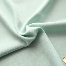 фото: ткань для задника подушки Лен мятного цвета