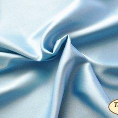 фото: ткань для задника подушки Голубой атлас