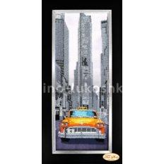 Схема для вышивки бисером Города мира. Нью-Йорк