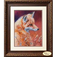 фото: картина для вышивки бисером, лиса