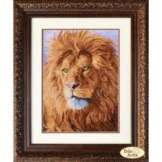 фото: картин для вышивки бисером, лев