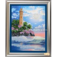 Набор со стразами и бисером Тропический маяк