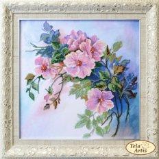 фото: картин для вышивки бисером цветы дикой розы