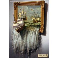Набор папертоль Море в картине